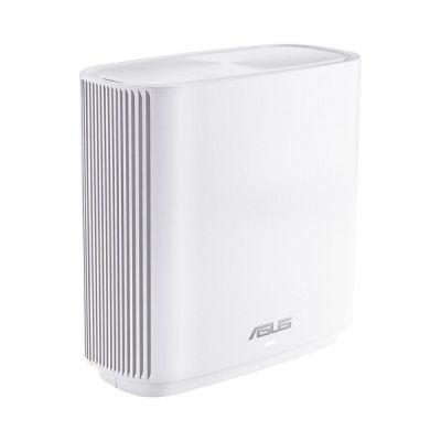image ASUS ZenWiFi CT8 Blanc - Routeur sans fil Wi-Fi AC Mesh, Tri-Bande, 3000 Mbit/s, 200m2, AiProtection avec TrendMicro à vie, Port WAN/LAN 2,5 Gigabit + 3 Ports LAN Gigabit, AiMesh