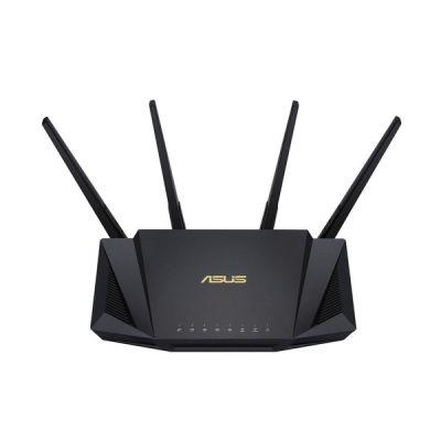 image Asus RT-AX58U Routeur WiFi 6 AX3000 Double Bande Gigabit (Ofdma, MU-MIMO, 1024Qam, Client et Serveur VPN, Mode Point accès, Répéteur & Nœud Aimesh)