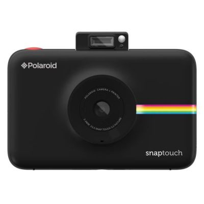 image Polaroid Snap Touch - Appareil Photo Numérique à Impression Instantanée avec Écran LCD et Technologie d'Impression sans Encre Zink, Noir