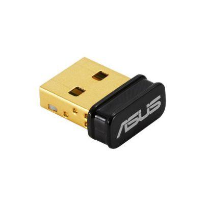 image ASUS USB-BT500 - Adaptateur USB Bluetooth 5.0, 2 x Transfert de données, 4 x Gamme de signaux, rétrocompatibilité complète avec Bluetooth 4.x, 3.x, et 2.1.
