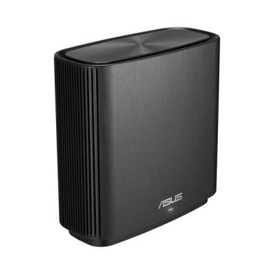 image ASUS ZenWiFi CT8 Noir - Routeur sans fil Wi-Fi AC Mesh, Tri-Bande, 3000 Mbit/s, 200m2, AiProtection avec TrendMicro à vie, Port WAN/LAN 2,5 Gigabit + 3 Ports LAN Gigabit, AiMesh