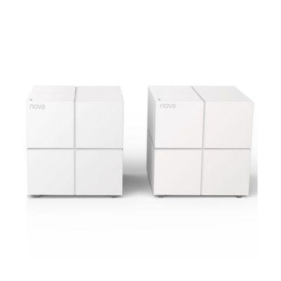 image Tenda Système WiFi Mesh Bi-bande Gigabit MW6(2-Pack) pour Toute la Maison (Routeur & Répéteur WiFi remplacement), Couverture Wi-Fi de 350m², Fonctionne avec Toutes les Box Internet, 3 ans de Garantie