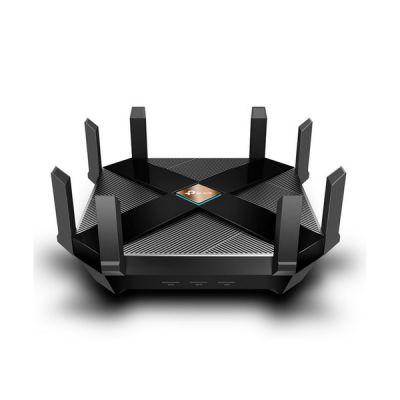 image TP-Link Archer AX6000 Routeur WiFi 6 - 802.11ax, WiFi bi-bande, Port WAN 2,5G, 8 ports LAN gigabits, Processeur quadricœur à 1,8 GHz, ports USB 3.0, Idéal pour jeux Xbox/PS4/Steam & 4K/8K Streaming
