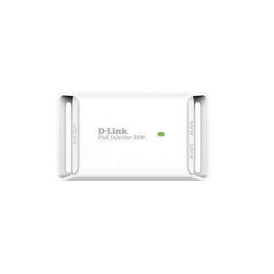 image D-Link DPE-301GI Injecteur 1 Port Gigabit PoE 802.3/3u/3ab - 10/100/100BASE-T - 802.3at et 802.3af - jusqu'à 30W - Idéal pour Alimenter vos Équipements POE
