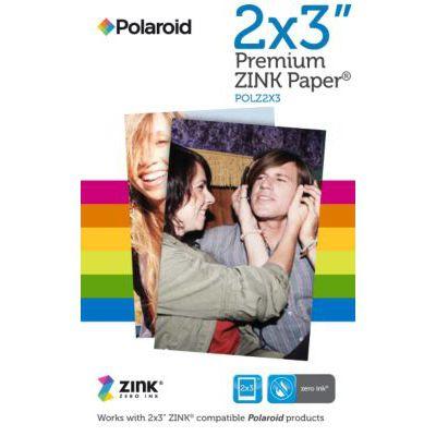 image produit Polaroid Premium Papier Zink (Paquet de 50 Feuilles) Compatible avec les appareils photo Polaroid Snap, Mint, Z2300 et Polaroid Imprimante instantanée Zip et Mint 5 x 7,6 cm. - livrable en France