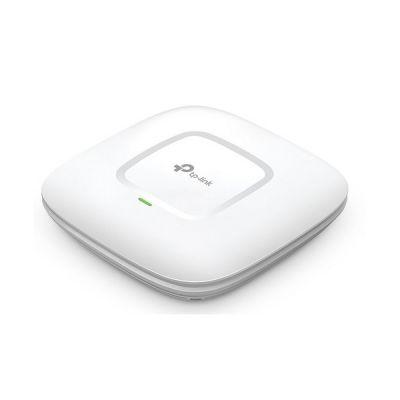 image TP-Link EAP110 Point d'accès WLAN N300 (300Mbit / s 2,4 GHz avec 2 * 2-MIMO, prend en charge le PoE passif, longue portée, boîtier résistant aux intempéries) blanc