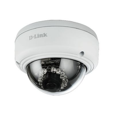 image D-Link DCS-4603 Vigilance Caméra IP Dome PoE Full HD - Capteur CMOS Progressif 3 Megapixel - H.264/MJPEG - Résolution Max 2048 x 1536 - Surveillance Extérieure et Intérieure Jour & Nuit