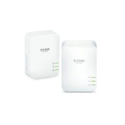 image D-Link DHP-601AV Kit de 2 Adaptateurs HomePlug AV2 1000 HD - Idéal pour profiter du service Multi-TV à la maison, Blanc