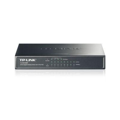 image TP-Link Switch PoE (TL-SG1008P V4) 8 ports Gigabit, 4 ports PoE+, 64W pour tous les ports PoE, Boitier Métal, Installation faciles, idéal pour créer un réseau de surveillance polyvalent et fiable