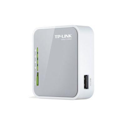 image TP-Link Routeur 150Mbps Wi-Fi N, 1 Port USB 2.0, 1 Port Ethernet, Port USB pour clé 3G/4G (TL-MR3020)