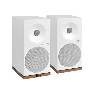 image Tangent Spectrum X5BT Phono 50W Blanc haut-parleur - Hauts-parleurs (2-voies, Avec fil &sans fil, 3,5mm/Bluetooth, 50 W, 60 - 20000 Hz, Blanc)