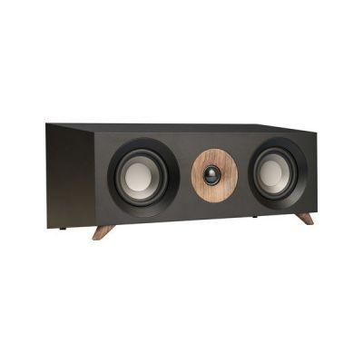 image Jamo S 83 CEN 160W Noir, Noyer Haut-Parleur - Hauts-parleurs (avec Fil, 160 W, 65-26000 Hz, 8 Ohm, Noir, Noyer)