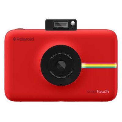 image Polaroid Snap Touch - Appareil Photo Numérique à Impression Instantanée avec Écran LCD et Technologie d'Impression sans Encre Zink, Rouge