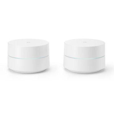 image Google WiFi Pack de 2 Routeurs sans Fil Bluetooth Blanc GA00190-FR