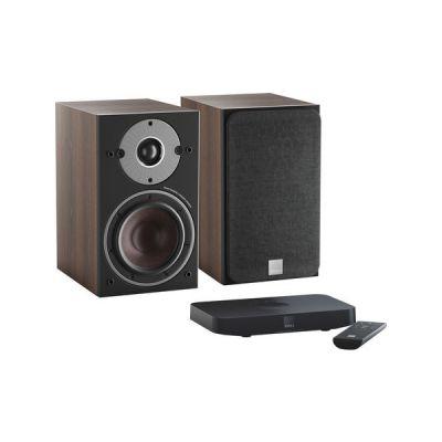 image Dali Oberon 1 C Noyer Foncé + Sound Hub Compact