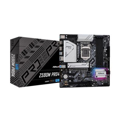 image Asrock Z590M Pro4 Intel Z590 LGA 1200 Micro ATX