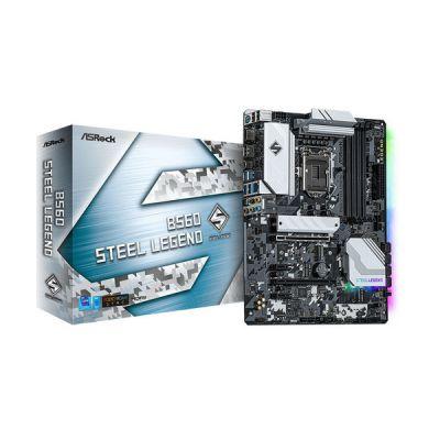 image ASRock B560 Steel Legend Intel B560 LGA 1200 (Socket H5) Micro ATX