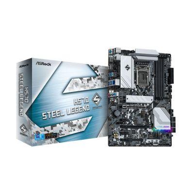 image Asrock H570 Steel Legend Intel H570 LGA 1200 (Socket H5) ATX