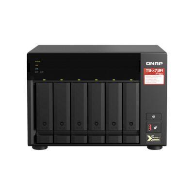 image QNAP TS-673A-8G Serveur de Stockage NAS Tower Ethernet/LAN Noir V1500B
