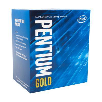 image Intel Pentium Gold G6605 processeur 4,3 GHz 4 Mo Smart Cache Boîte