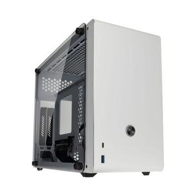 image Raijintek Boitier Mini ITX Ophion Evo avec Panneaux vitrés (Blanc)