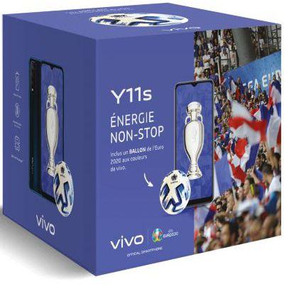 image Smartphone Vivo Pack Y20S Noir + Powerbank