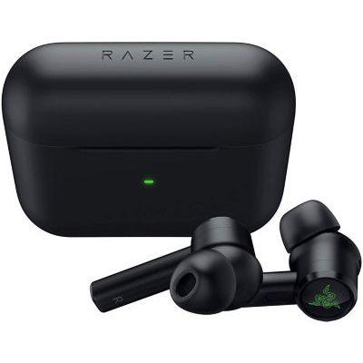 image Razer Hammerhead True Wireless Pro - Écouteurs sans Fil avec Connexion à Faible Latence 60, Audio THX, Suppression du Bruit, 6 Coussinets d'Oreille, Couleur Noir