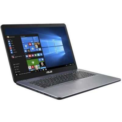 image PC Portable ASUS R702BA-BX002T - 17,3- HD+ - AMD A9-9425 - RAM 8Go - Stockage SSD 512Go - Radeon R5 Graphics - Windows 10 - AZERTY