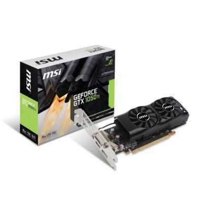 image MSI Carte graphique GeForce® GTX 1050 Ti 4GT LP - 4Go - GDDR5