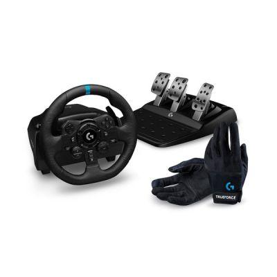 image Logitech G923 PS4/PS5/PC + Logitech G Racing Gloves