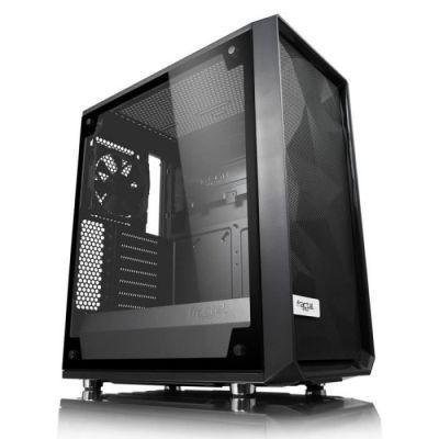 image Fractal Design Meshify C – TG Midi Tower Noir, Transparent