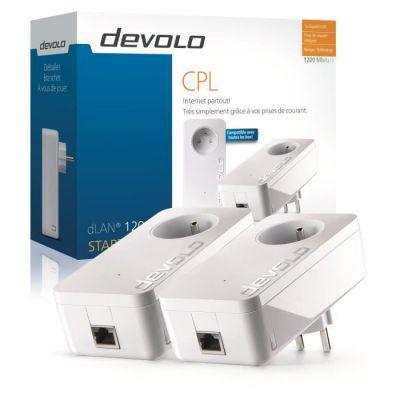 image DEVOLO CPL filaire 1200 Mbit /s- Modèle 9377 dLAN 1200+