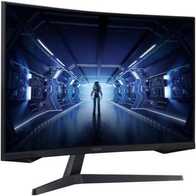 image Ecran PC Gamer Incurvé - SAMSUNG ODYSSEY G5 - 32- WQHD - Dalle VA - 1 ms - 144Hz - AMD FreeSync