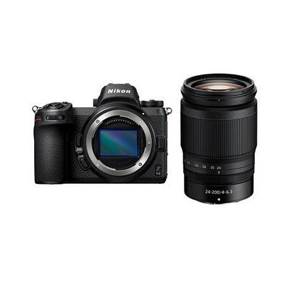 image Nikon Z 6II + Objectif Z 24-200 f/4-6,3 VR, Appareil Photo Numérique Hybride Plein Format (24,5 MP, 4K/30p, rafale 14 i/s, stab sur capteur 5 axes, double slots SD & XQD ou CFexpress)