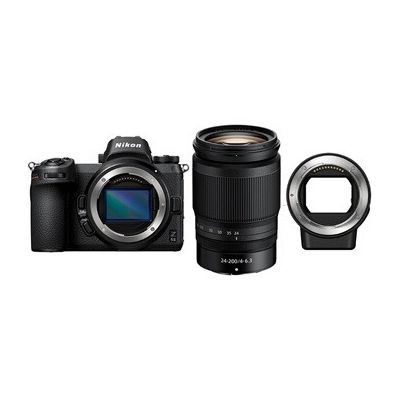 image Appareil photo hybride Nikon Z 6II + Z 24-200mm f/4-6.3 VR + Bague FTZ