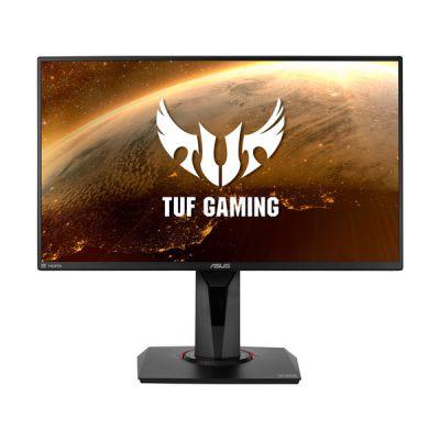 "image ASUS TUF Gaming VG259QR - Ecran PC gaming 24,5"" FHD - Dalle IPS - 1ms - 165Hz - 1920x1080 - 300cd/m² - 1x DP & 2x HDMI - ELMB - Nvidia G-Sync - Haut-parleurs - Shadow Boost"