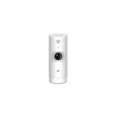 image D-Link DCS-8000LH Caméra mydlink Mini HD Wi-Fi - 1280x720 - H.264 - Microphone Intégré - Filtre ICR - LEDs Infrarouge 5m - SupPort Google Assistant / Alexa / IFTTT