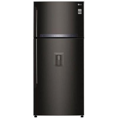 image LG - GTF7850BL - Réfrigerateur congélateur 2 portes - 509L (379L + 130L) - NO FROST - A++ - L78cm x H180cm - Noir