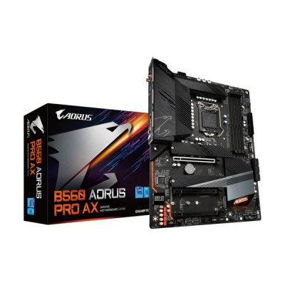 image Gigabyte B560 AORUS Pro AX Carte mère Intel B560 LGA 1200 ATX