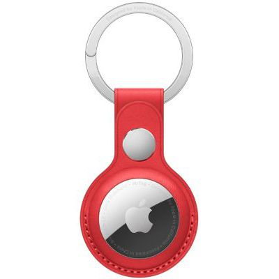 image Porte-clés Apple AirTag Cuir (PRODUCT)RED