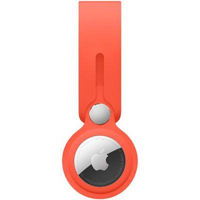 image Apple Lanière AirTag - Orange électrique