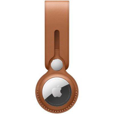 image Lanière Apple AirTag Cuir marron