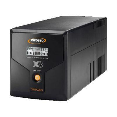 image INFOSEC UPS SYSTEM Onduleur X3 EX 1200 - LCD - USB