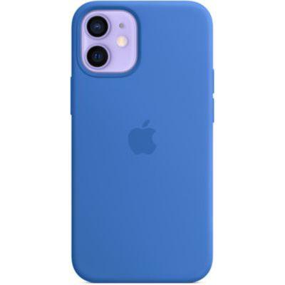 image Apple Coque en Cuir avec MagSafe (pour iPhone 12 Mini) - Bleu Capri