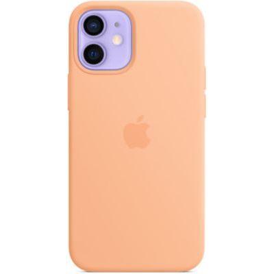 image Apple Coque en Cuir avec MagSafe (pour iPhone 12 Mini) - Melon
