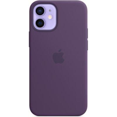 image Apple Etui en Silicone avec MagSafe (pour iPhone 12 Mini) - améthyste