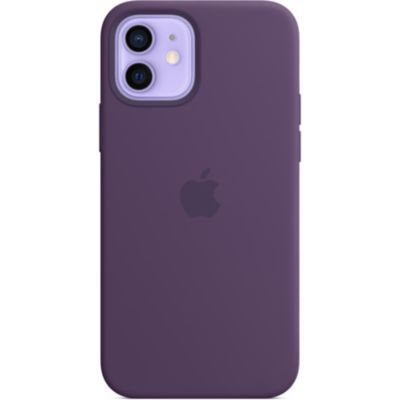 image Apple Coque en Silicone avec MagSafe (pour iPhone12  12Pro) - Améthyste