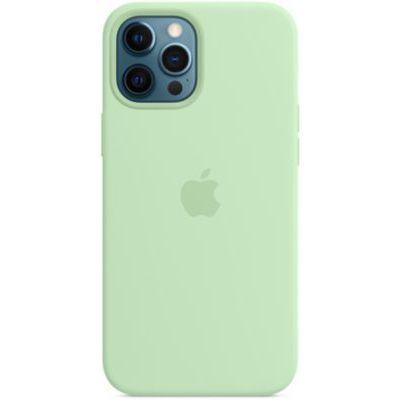 image Apple Coque en Silicone avec MagSafe (pour iPhone 12 Pro Max) - Pistache
