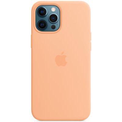 image Apple Coque en Silicone avec MagSafe (pour iPhone 12 Pro Max) - Melon