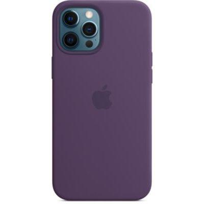 image Apple Coque en Silicone avec MagSafe (pour iPhone 12 Pro Max) - Améthyste